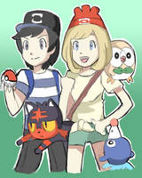 Pokemon Sun and Moon Trainers 2 by RamyunKing