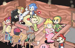 Smash Bros Chibi's: The Roost - Animal Crossing