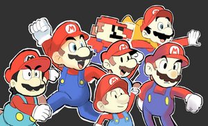 Different Style - Super Mario by RamyunKing