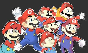 Different Style - Super Mario