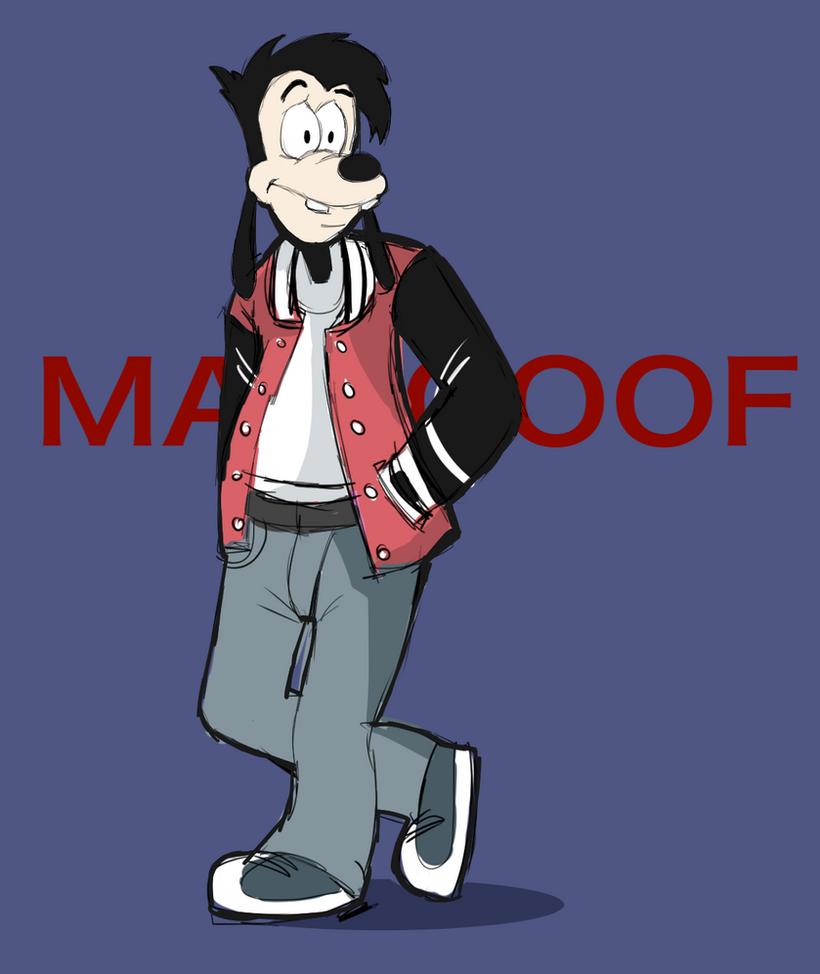 Max Goof - Doodle by AlSanya