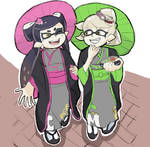 Splatoon2: Callie and Marie