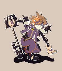 Kingdom Hearts Sora Halloween Town Costume.Kh Artwork On Kingdom Hearts Loves Deviantart