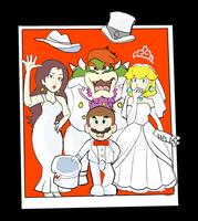 Super Mario Odyssey: Polaroid Photo by RamyunKing