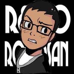 RetroRobosan: Animation / Video - Game Logo :( by RamyunKing