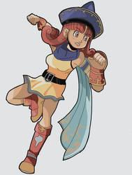 Alena: Dragon Quest by RamyunKing