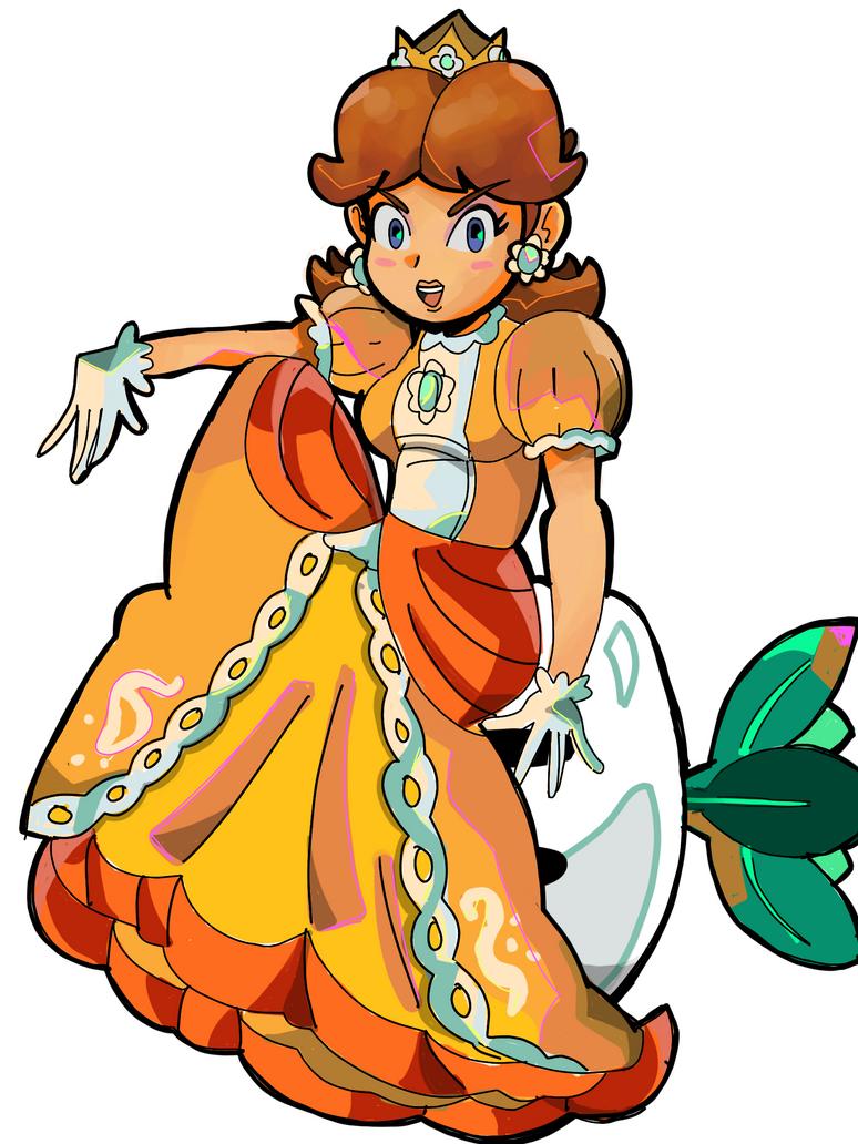 Princess Daisy - Turnip by RamyunKing