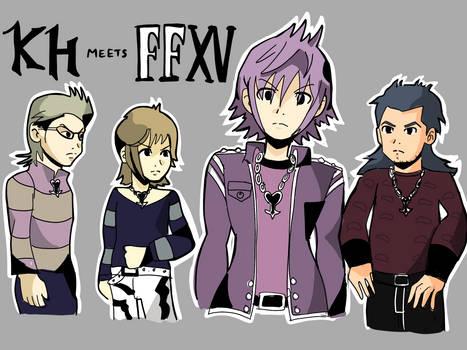 Final Fantasy XV x Kingdom Hearts 3