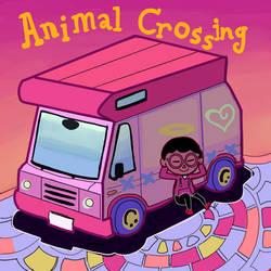 Animal Crossing Pocket Camp. Camper and Villager