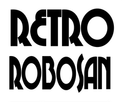 RetroRobosan - Logo Design 2