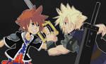 Kingdom Hearts: Sora x Cloud