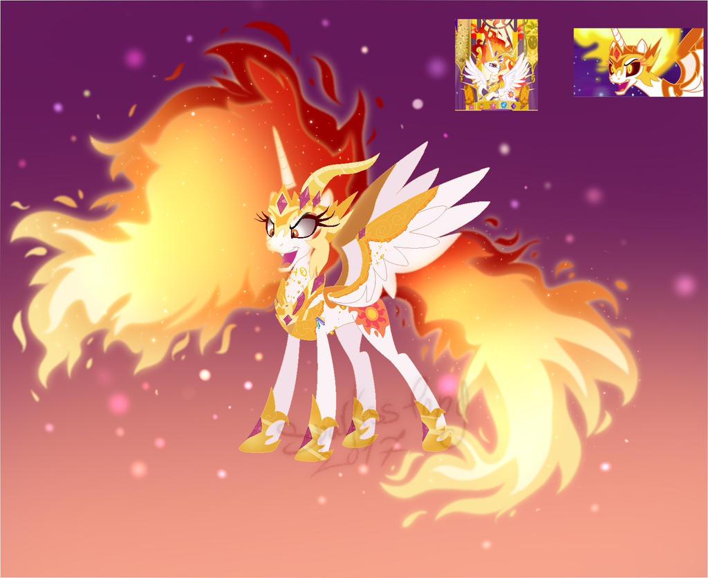 [Fusion] DaybreakerXSolar Flare by Sparkiss-Pony on DeviantArt