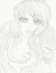 lyrica sketch by shy-orchid-ghost