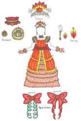 Pumpkin Dress Adopt (CLOSED)