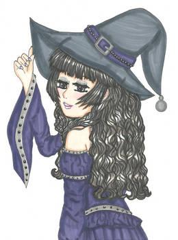 Inktober #1: Witch