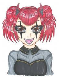Inktober #5: Teeth by shy-orchid-ghost