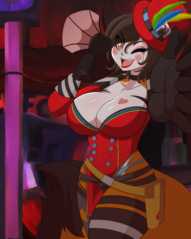 #26 Mad Moxxi (Borderlands) FUNDED! by DesertFoxKatbox