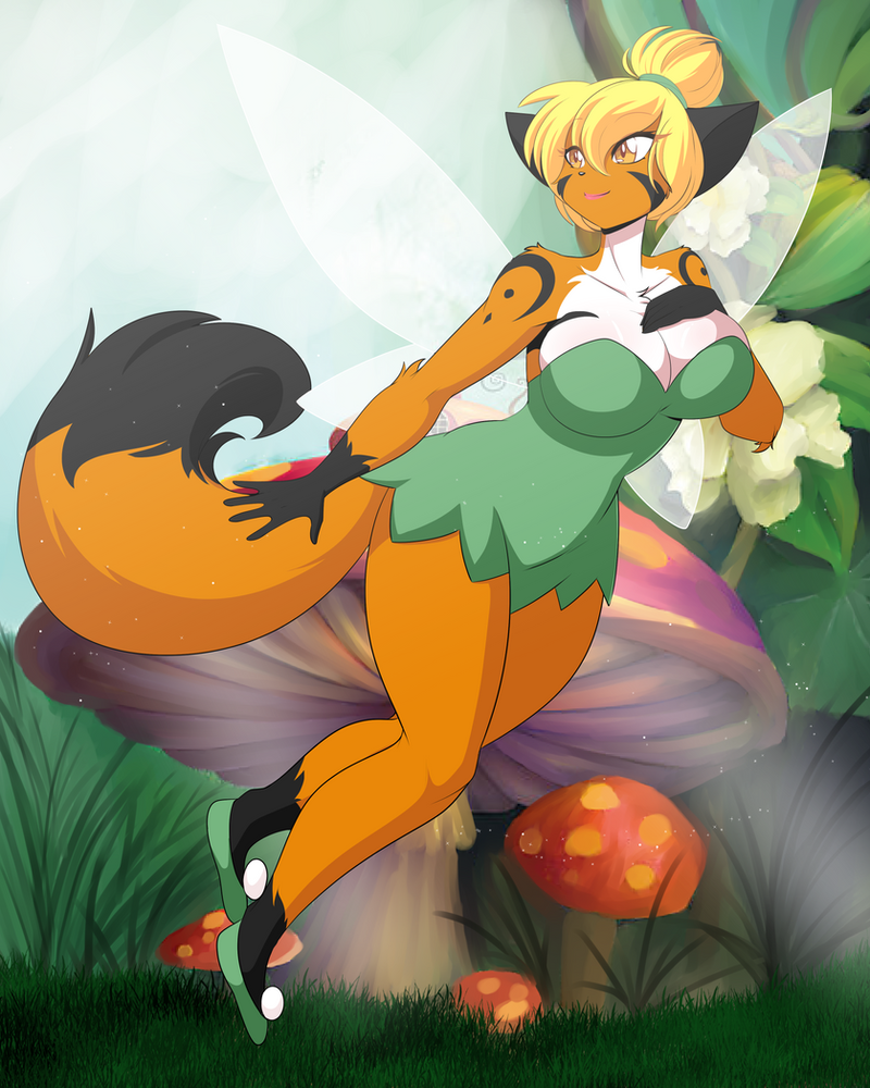 #27 Tinkerbell (Peter Pan) FUNDED! by DesertFoxKatbox
