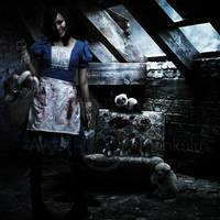 Alice in the game room by aycatanrikulu