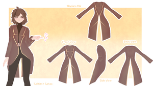   MMD   TAILCOAT made from a TDA Nail! +DOWNLOAD