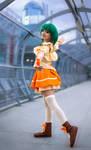 Ranka Lee cosplay - Interstellar Flight