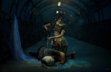 Bioshock - Little Sister cosplay by DariaAmbrosia