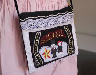 Oyasumi Punpun - Aiko Tanaka handmade cosplay bag by DariaAmbrosia