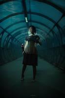 Bioshock - scared Little Sister by DariaAmbrosia