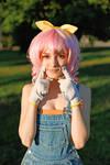 Code Geass - Anya Alstreim smile cosplay