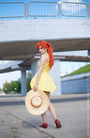 Sohryu Asuka Langley cosplay - ice cream