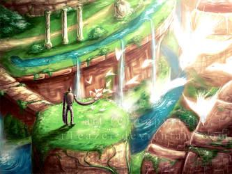 Forgotten Paradise by allisonchinart