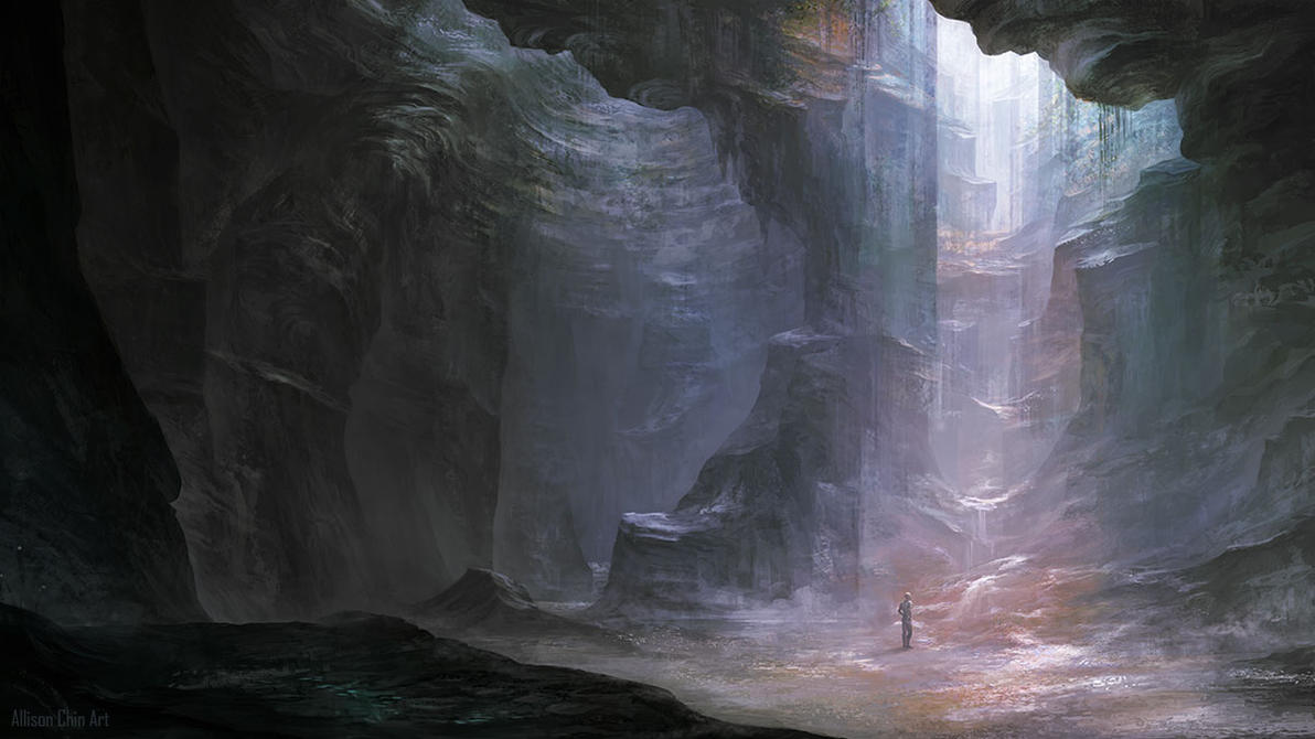airbrushed artwork cavern concept - photo #17