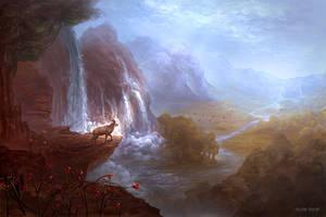 Autumn Mist by allisonchinart
