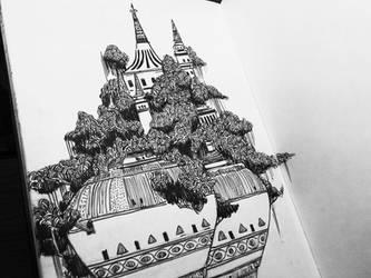 Floating Palace by allisonchinart