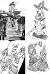 Cities of Baten Kaitos, Xenogears, and Nausicaa