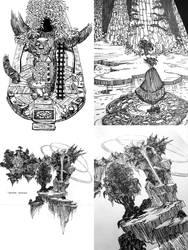 Trees of Baten Kaitos, Terranigma, + Chrono Cross
