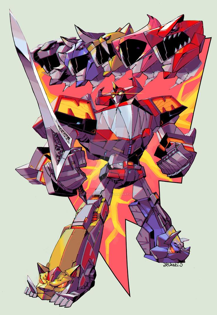 Megazord by InakiShinrou