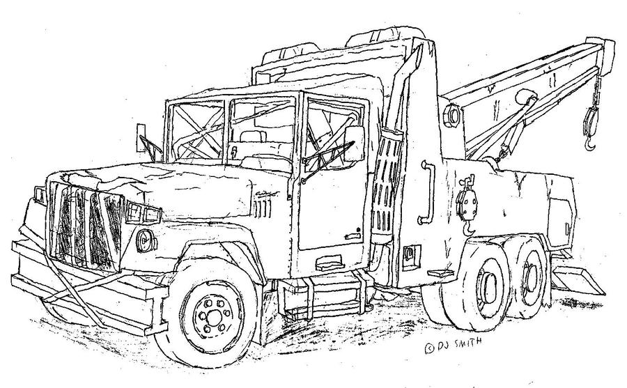 Mater Tow Truck Coloring Pages Coloring Pages