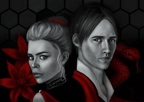 Lily and Dorian by InsomniaTSO