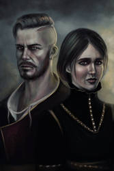 Olgierd and Iris by InsomniaTSO