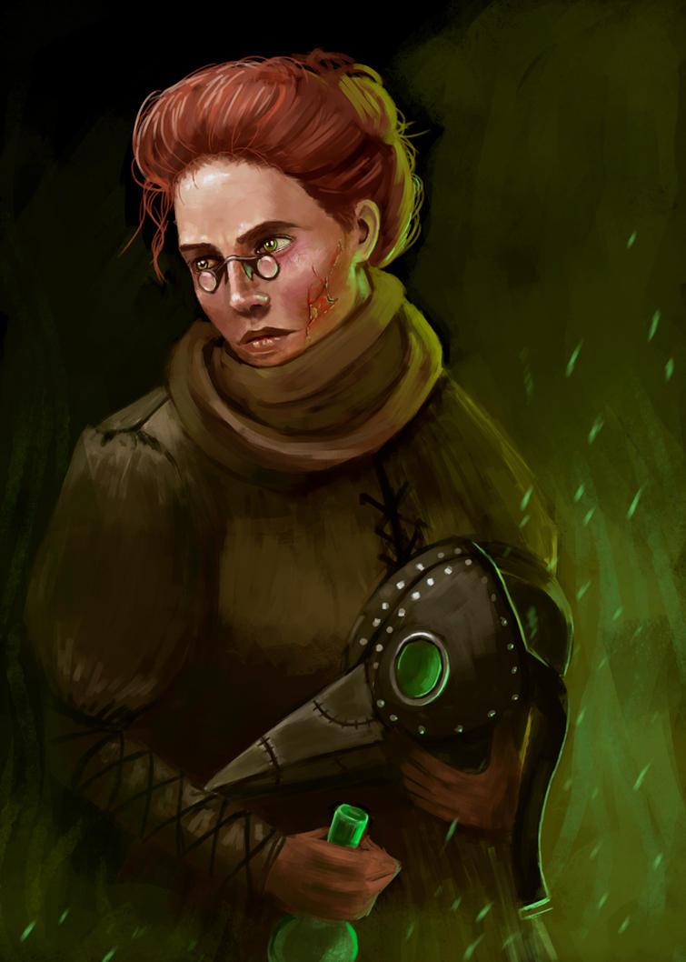 Darkest Dungeon: Plague Doctor by InsomniaTSO