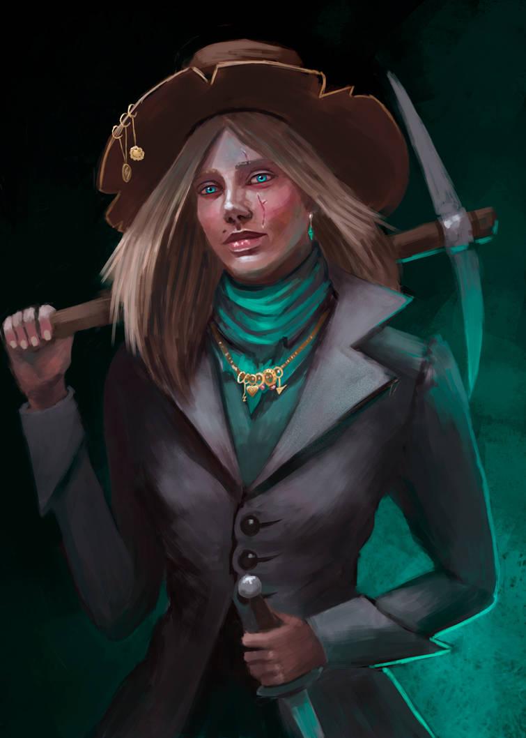 Darkest Dungeon: Grave Robber by InsomniaTSO