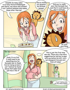 Orihime gains weight page 1