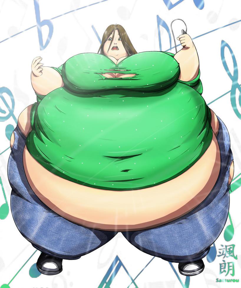 Fat girl deviantart