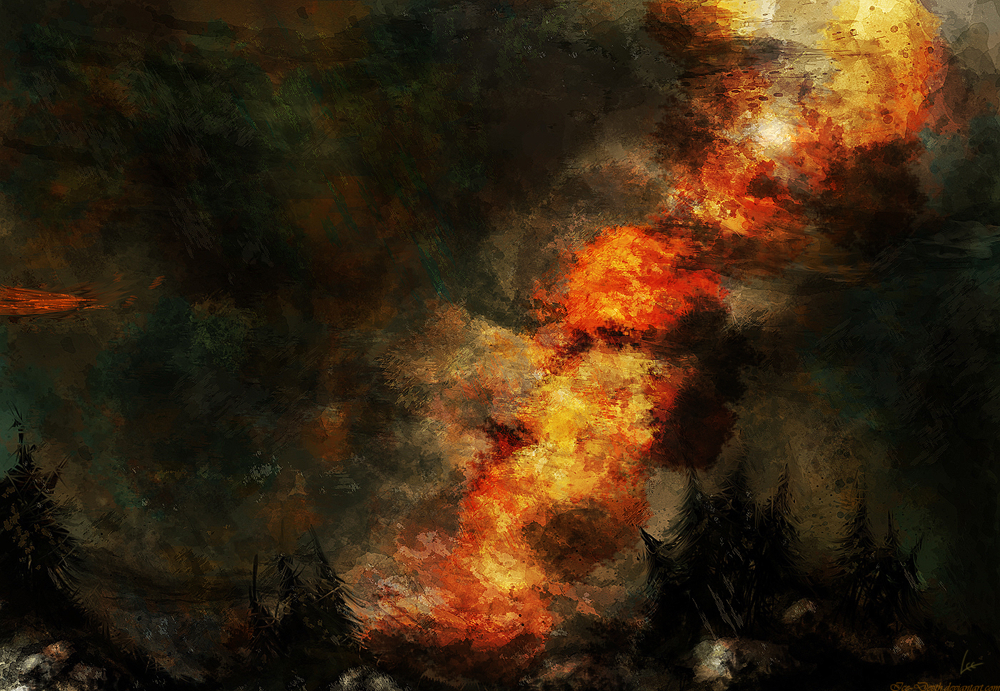Incendio by MarioTeodosio