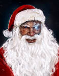do not mess with santa claus by MarioTeodosio