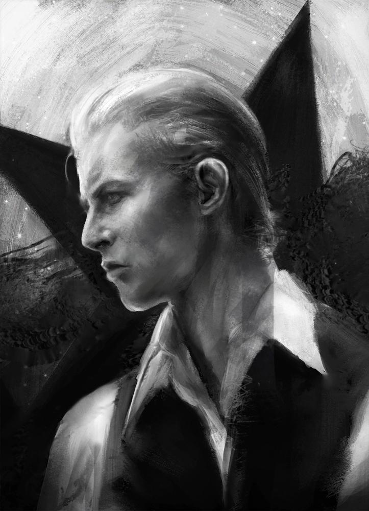 The Thin White Duke by MarioTeodosio