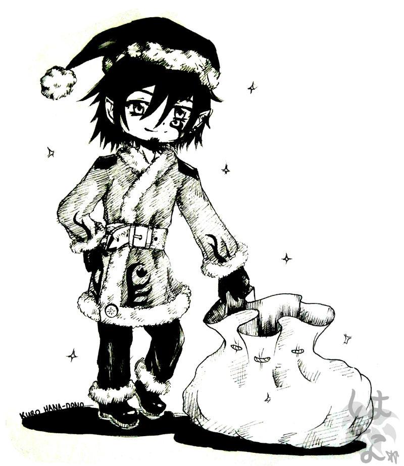 Doodle Com.(2): LevairAmeliaRivaille by KuroHana-dono