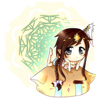 Chibi commission sample by KuroHana-dono