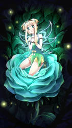 Rui, the fairy of Houseki forest